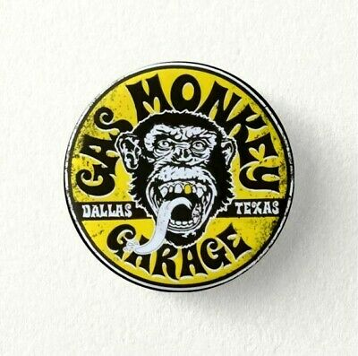 Chapa Pin Badge Button GAS MONKEY GARAGE