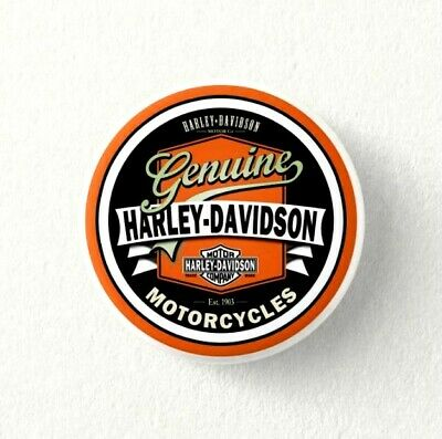 Chapa Pin Badge Button HARLEY DAVIDSON