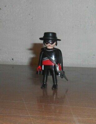 Lot Figurine Playmobil Personnage Zorro