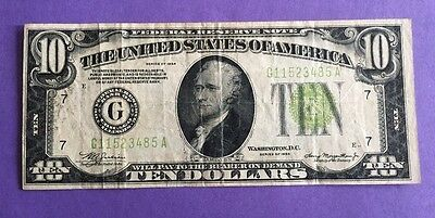 FR-2004 1934 Series $10 Federal Reserve Note F12 to VG8