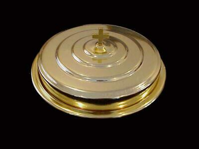 Artistic Churchware Holy Communion Tray RW-500 Gold Tone Metal