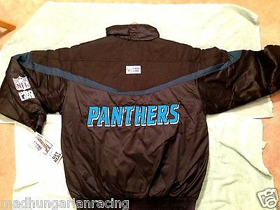 check out c5315 3f14a CAROLINA PANTHERS WINTER Jacket Logo Athletic New Old Stock Vintage Cam  Newton