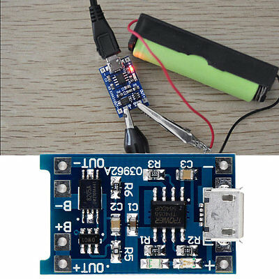 5V Micro USB 1A 18650 Lithium Battery Charging Board Charger Module New WN