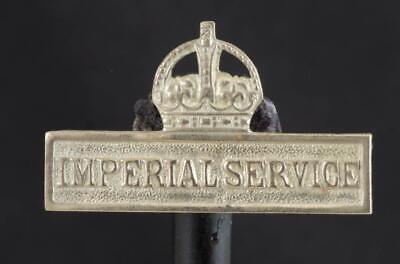 Territorial Force Imperial Service Badge  1900~1908 Extremely Rare  - Ref: 3191X