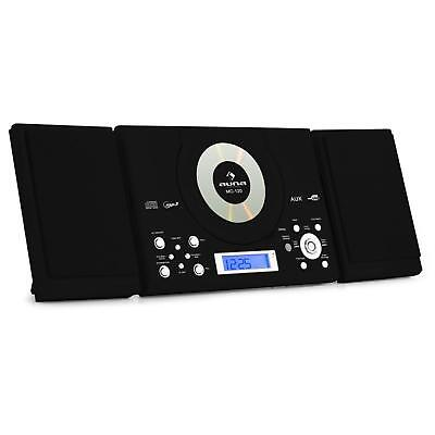 MINI CADENA DE MUSICA EQUIPO HIFI ESTEREO MP3 CD USB RADIO DESPERTADOR -B-Stock