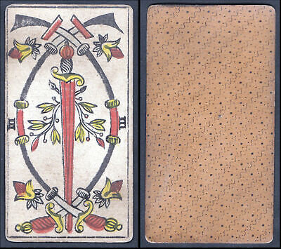 "Original 18th century playing card / carte a jouer / Spielkarte - Tarot "" 169569"