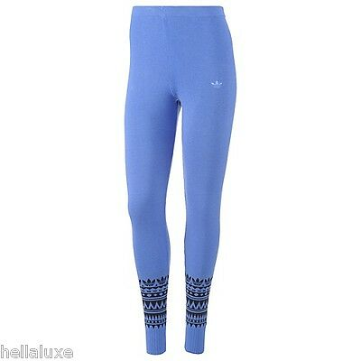 e31897f9fee4fd nwt~Adidas PATTERNED LEGGINGS Tight Yoga Running KNITTED Pant workout~Women  sz S