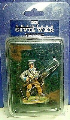 American Civil War Confederate Infantry Standing Framing Number One 54 Mm Metal