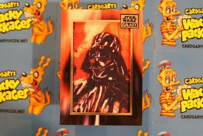 2018 STAR WARS GALAXY COMMEMORATIVE ART PATCH CARDS M-DV  * Darth Vader  *  5072