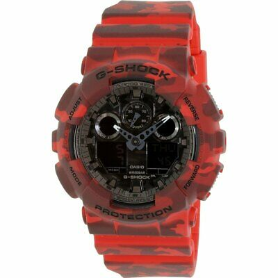 Casio Men's G-Shock  Red Resin Quartz Watch