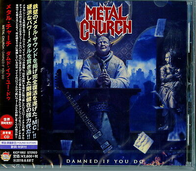 Metal Church-Damned If You Do-Japan Cd F83
