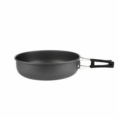 Picnic Cooking Pot Frying Pan Bowl Portable Camping Cookware Set 4-5 Per 6Y