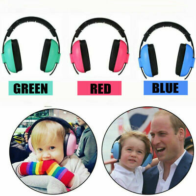 Baby Kids Ear Defenders Sleeping Noise Reduction Protectors Muff Children Child