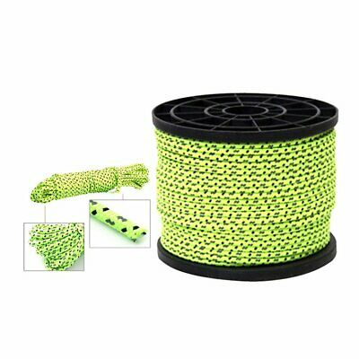 Outdoor Reflective Windproof Tent Rope Lanyard Camping Hiking Fixed C SD