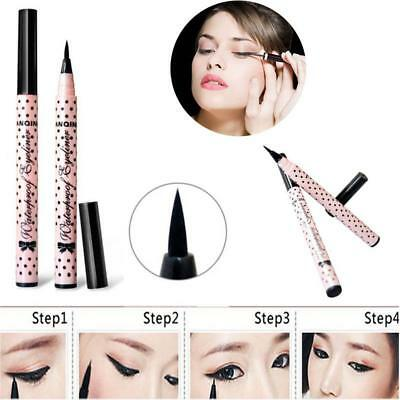 Impermeable Negro Maquillaje Belleza Eyeliner líquido Comestic Eye Liner BF