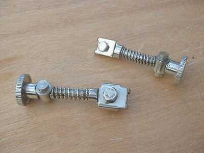 Lambretta  Stainless Steel Brake Cable Adjusters  -  Brand New