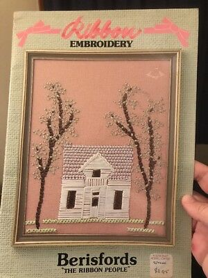 embroidery craft book - RIBBON EMBROIDERY - 16 designs
