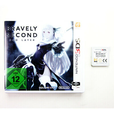 Nintendo 3DS Spiel Bravely Second End Layer in OVP