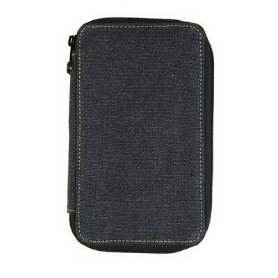 Speedball / Global Art 259480 Panel Style Canvas Pencil Case 48 Count - Black
