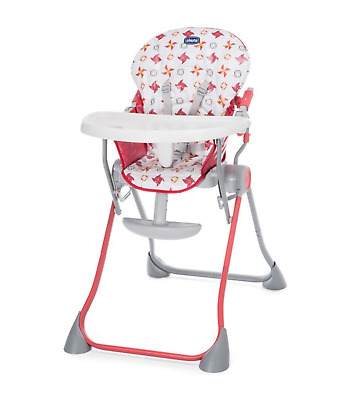 Seggiolone Chicco Pocket Meal Red