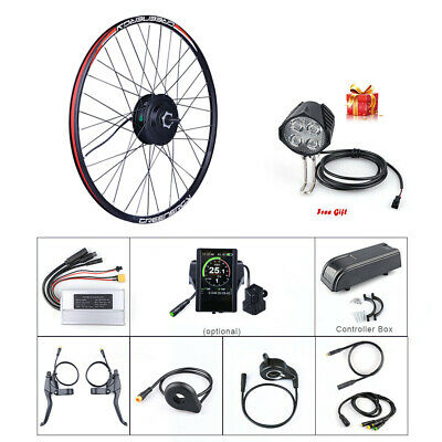 BAFANG 48V 500W Front Hub Motor Brushless Gear Bicycle EBike Conversion Kit