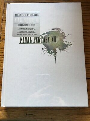 Final Fantasy XIII: The Complete Official Guide by Piggyback (Hardback, 2010)NEW