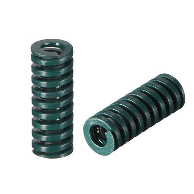 8x 20mm Long Spiral Stamping Heavy Load Compression Mould Die Spring Green 5pcs