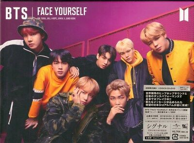 BTS (BANGTAN BOYS)-FACE YOURSELF (TYPE-B)-JAPAN CD+DVD+BOOK Ltd/Ed I72