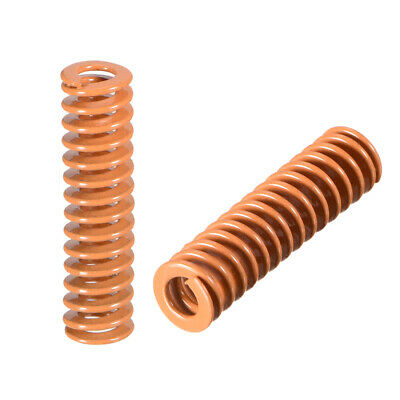 8mm OD 30mm Long Spiral Stamping Light Load Compression Mould Die Spring 10Pcs
