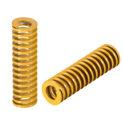 12mm OD 40mm Long Spiral Stamping Light Load Compression Mould Die Spring 10Pcs