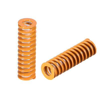 8mm OD 26mm Long Spiral Stamping Light Load Compression Mould Die Spring2Pcs