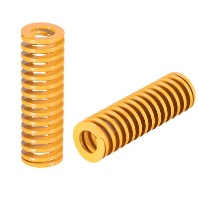 16mm OD 50mm Long Spiral Stamping Light Load Compression Mould Die Spring 10Pcs