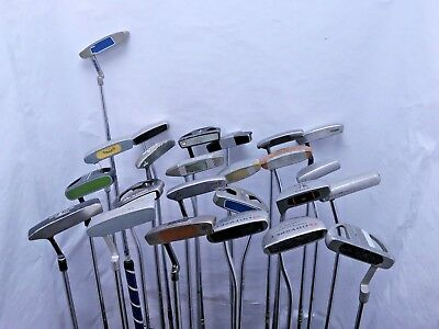 Lot of 24 Golf Club Putters Ping Odyssey Callaway Taylormade MSRP $2600