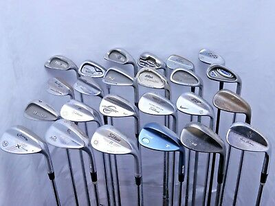 Lot of 24 Golf Club Wedges Callaway Cleveland Titleist Mizuno Ping  MSRP $2100