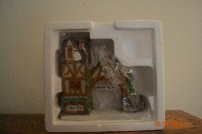 dept 56 dickens village series accessories 10 year anniversary Postern gate