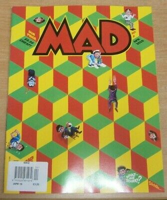 Mad magazine #6 Apr 2019 Merry Poopins goes to The White House. Spy vs Spy &more