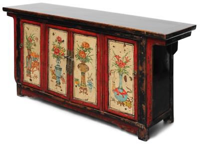 Chine Commode Chinois Buffet Ormes Bois Meuble Petite Armoire
