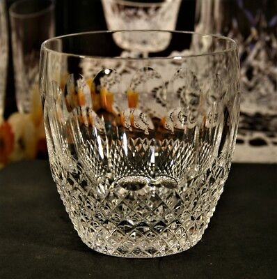 Waterford Crystal COLLEEN Old Fasioned 9 oz Whisky Glasses 602/137~ 3 1/2""