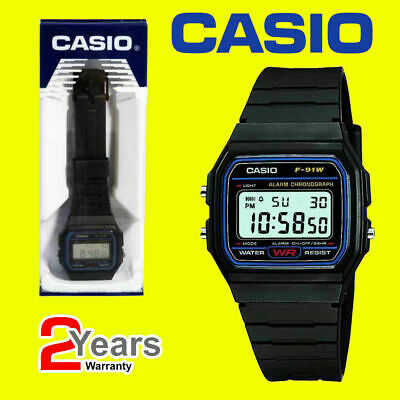 HOT Casio Men's F91W-1 Classic Black Digital Resin Strap Watch Strap Digital