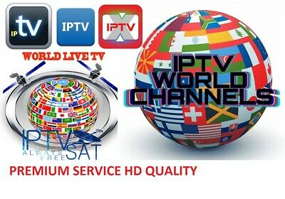 6 Months IPTV Subscription Full HD (MAG - IOS - SmartTV Android Firestick)