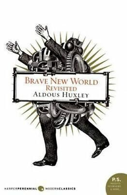 NEW Brave New World Revisited By Aldous Huxley Paperback Free Shipping