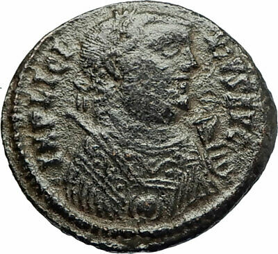 LICINIUS I Constantine I enemy 318AD Authentic Ancient Roman Coin GATE i76675