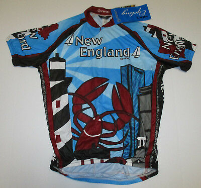 New York City 1//2 Zip Cycling Jersey New with Tags Men/'s Size Small Canari
