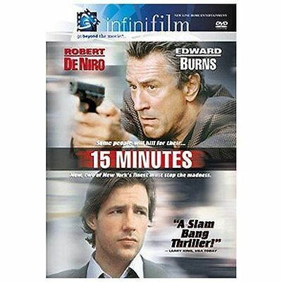15 Minutes (DVD, 2001)