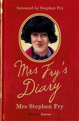 NEW Mrs Fry's Diary By Mrs Stephen Fry Paperback Free Shipping