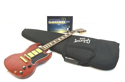 2007 Gibson SG-3 Limited Edition Electric Guitar - Heritage Cherry w/Gibson Bag