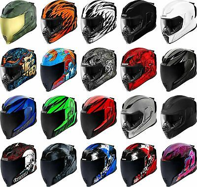 Icon Airflite Helmet - Full Face Motorcyle Street Riding Race DOT ECE Adult