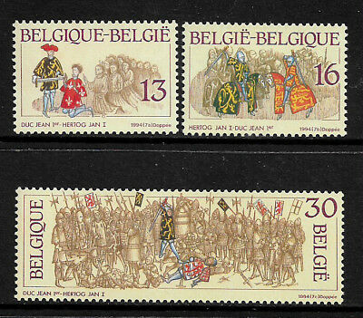 Belgium #1547-9 Mint Never Hinged Set - History