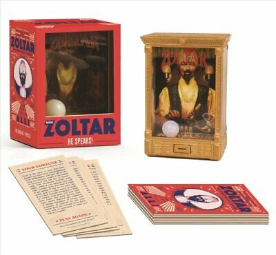 Mini Zoltar He Speaks! by Zoltar 9780762464852 (Mixed media product, 2018)