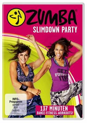 Zumba Slimdown Party -137  Dance-Ftiness-Workouts   Dvd Neuf